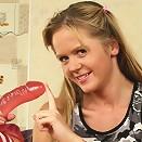 Karen Loves Her Pink Dildo