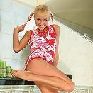 Hanna - Delightful teen strips and dildos
