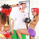 Click to see the best boxing workout with Little Caprice